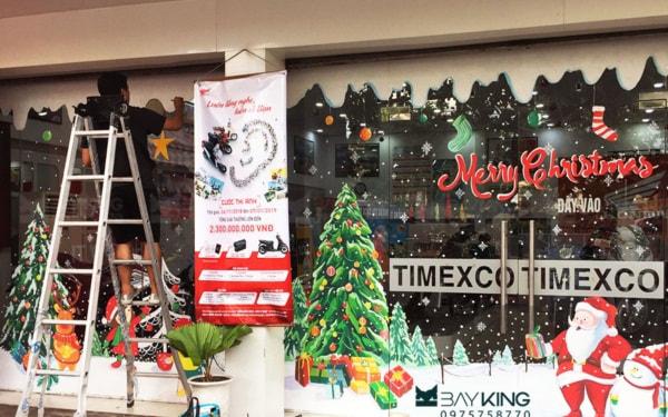 Kinh doanh dịch vụ trang trí và cho thuê cây thông Noel