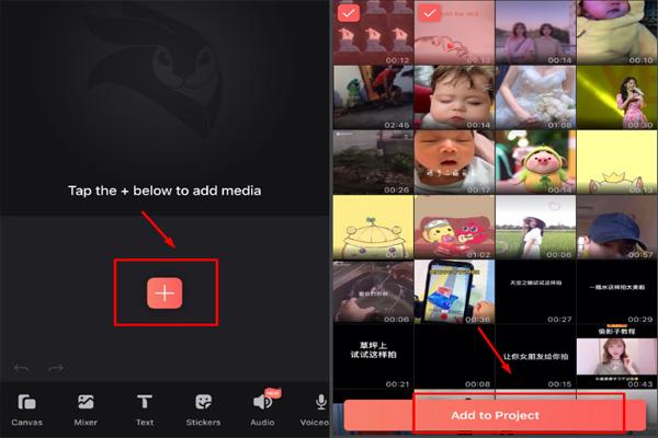 Sử dụng ứng dụng videoleap để chỉnh sửa video