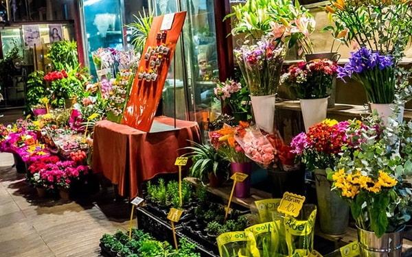 Mở cửa hàng kinh doanh hoa tươi