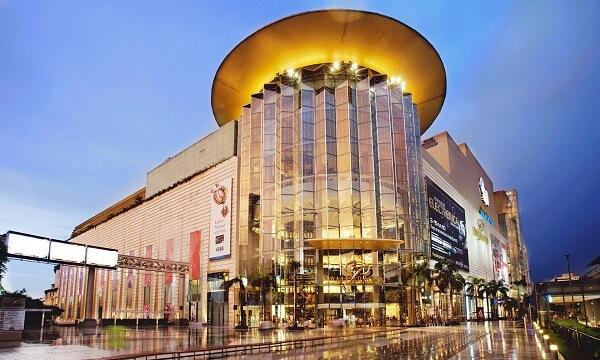 Khu trung tâm mua sắm hàng hóa Siam Paragon tại Thái Lan
