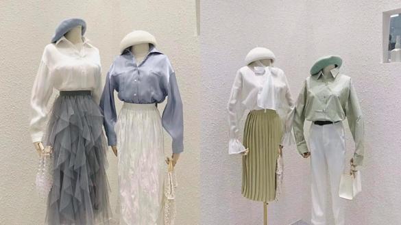 Quần áo thời trang chợ Chàm Sấy mẫu mã rất phong phú