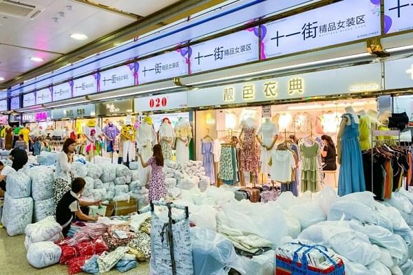 Hàng hóa chợ Shahe rất đa dạng và phong phú về số lượng