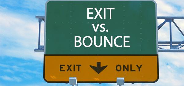 Sự khác nhau giữa Exit Rate & Bounce Rate