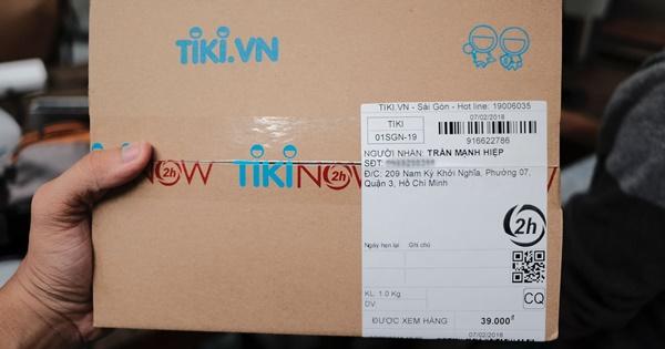 Đóng gói hàng hóa đẹp mắt, gọn gàng sẽ giúp bán hàng trên Tiki có hiệu quả