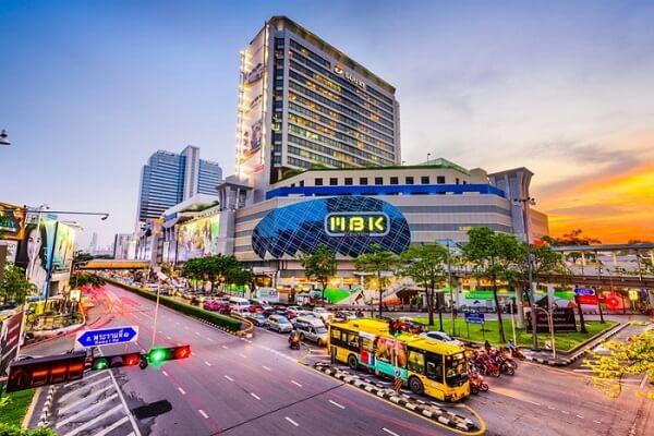 Một trung tâm thương mại mua sắm lớn ở Thái Lan