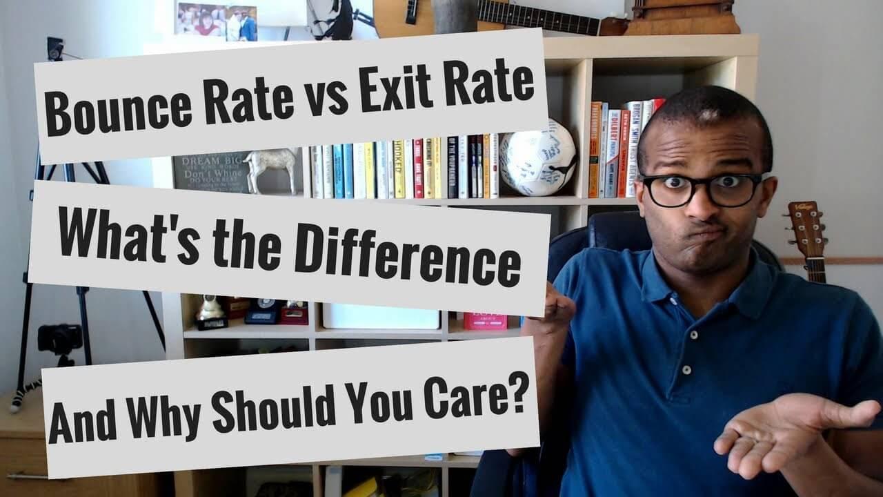Exit rate và bounce rate khác nhau như thế nào