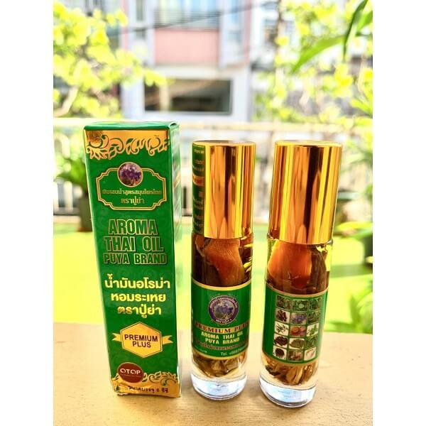 Các sản phẩm dầu gió Thái Lan nổi tiếng tại shop