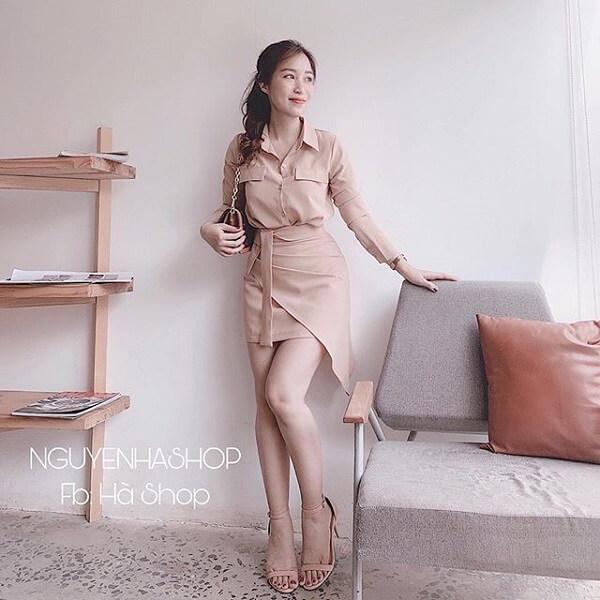 Nguyenhashop là cái tên cực kì nổi trong thị trường bán sỉ quần áo