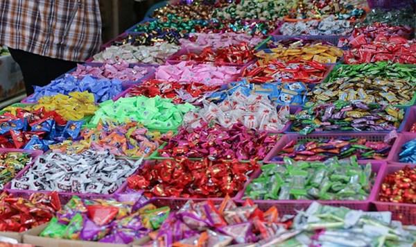 Nguồn hàng bánh kẹo tại các chợ đầu mối