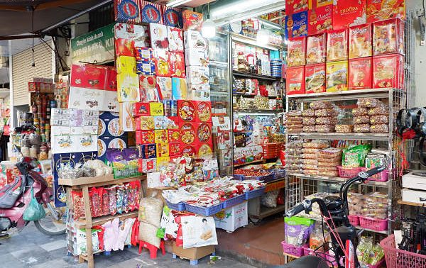 Phố Mạc Thị Bưởi chuyên cung cấp nguồn sỉ tạp hóa tại Hà Nội giá rẻ