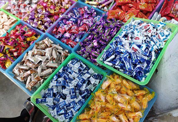 Các mặt hàng kẹo