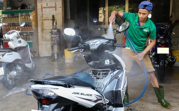 Kinh doanh gì với số vốn ít ỏi - Cung cấp dịch vụ rửa xe