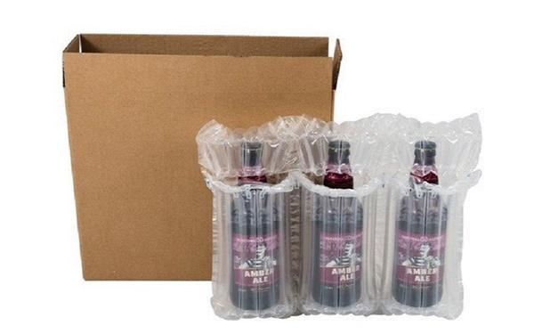 Cách gói hàng gửi bưu điện là dạng bình chứa chất lỏng