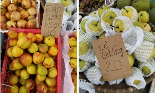 Chợ Văn Quán bán sỉ lẻ trái cây