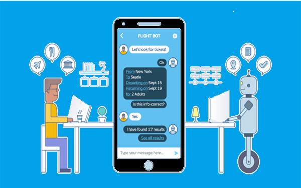 Chatbot sẽ tự động inbox cho khách hàng