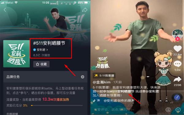 Hashtag nổi tiếng Trung Quốc