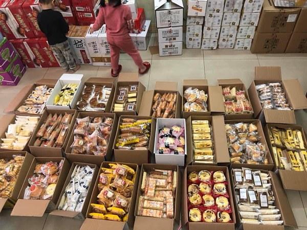 Nguồn hàng tại các shop chuyên sỉ đồ ăn vặt Trung Quốc