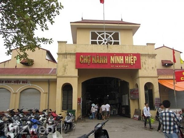 Lấy sỉ túi xách ở chợ nào Miền Bắc - Chợ Ninh Hiệp số 1