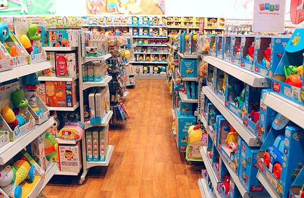 Các loại đồ chơi được sản xuất từ xưởng