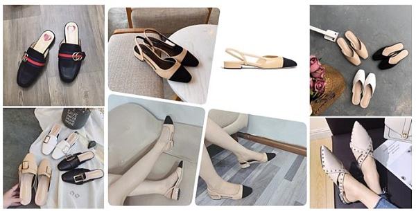 Những mẫu sục hot nhất trên thị trường sỉ giày dép