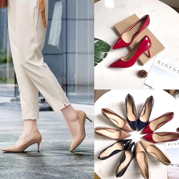 Không thể thiếu các mẫu giày cao gót khi đi bỏ sỉ giày dép nữ