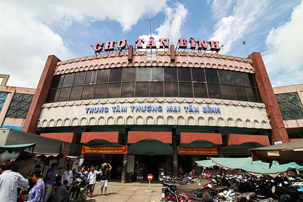 Chợ Tân Bình nổi tiếng là nơi chuyên sỉ quần áo Quảng Châu giá rẻ