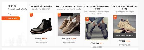 Sản phẩm hot trong ngành giày dép nam tính đến thời điểm hiện tại