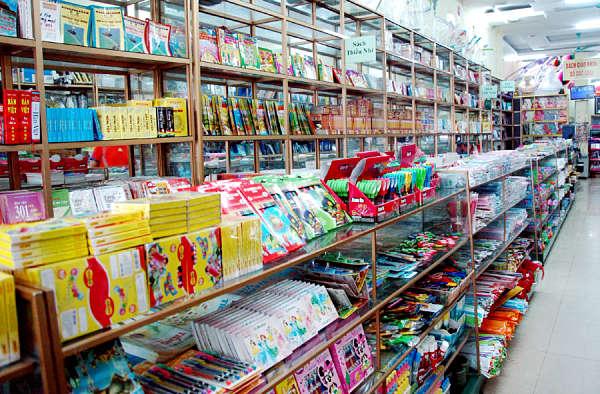 Văn phòng phẩm trong các siêu thị Hà Nội