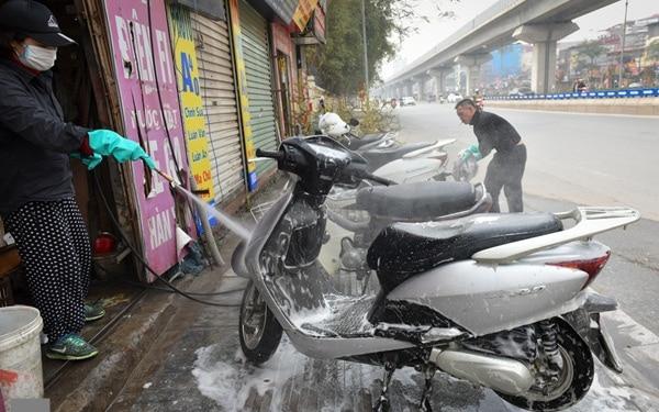 """Ý tưởng kinh doanh dịp tết """"hốt bạc"""" - Dịch vụ rửa xe"""