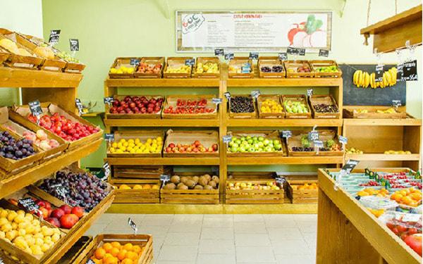 Nên kinh doanh mặt hàng gì ở chợ? - Mở shop bán trái cây