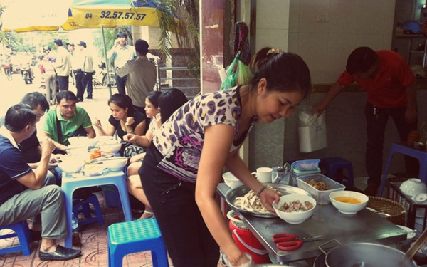 Mở quán ăn sáng gần chợ