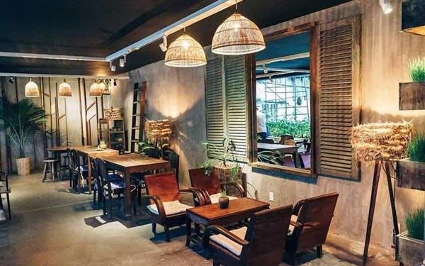 Mở quán cafe phong cách cổ, vintage
