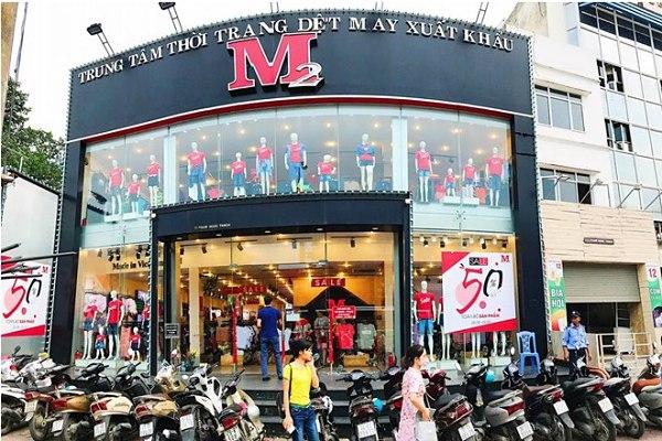 M2 - hệ thống cửa hàng bán quần áo big size Hà Nội