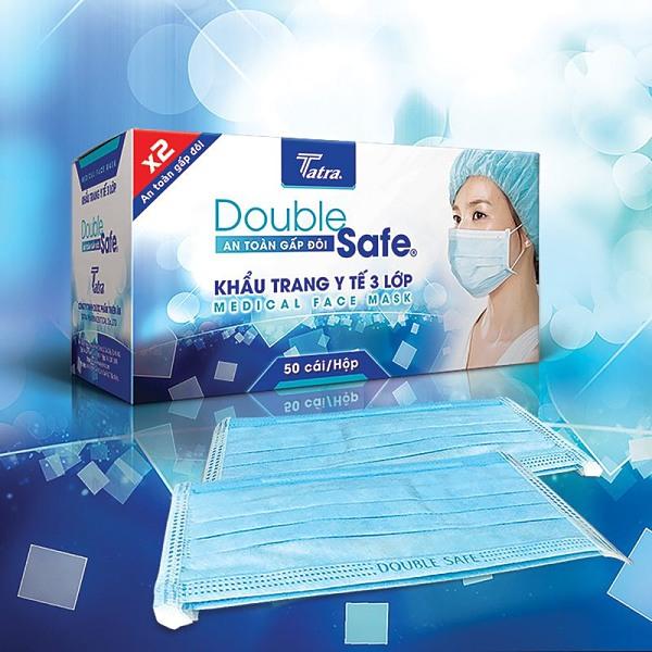 Khẩu trang y tế Double Safe Hà Nội