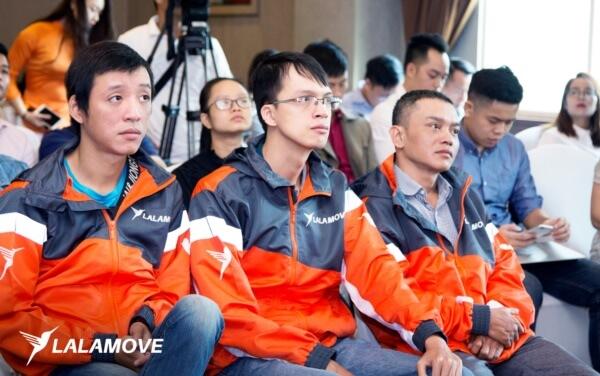 Tham gia đào tạo ứng viên Lalamove