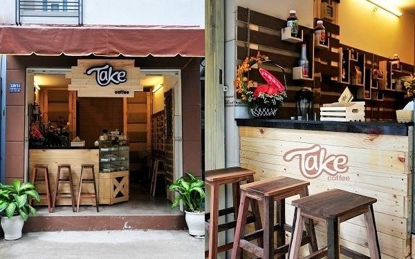 """Ý tưởng mở quán cafe """"hot"""" - Take away"""