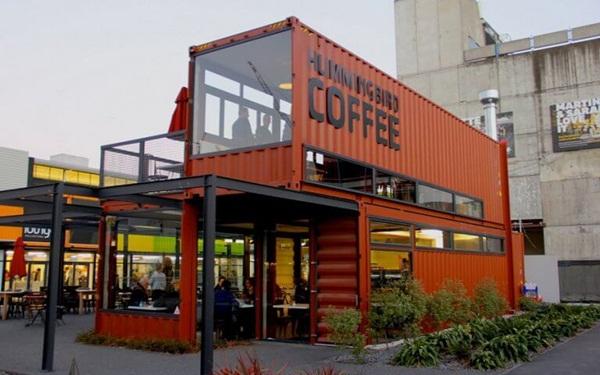 Ý tưởng mở quán cà phê Container