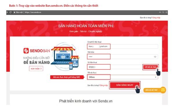 Cách đăng sản phẩm trên Sendo cực đơn giản