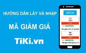 Nhập mã giảm giá Tiki lần đầu