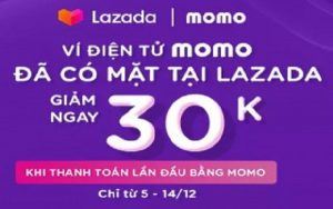 Cách thanh toán Lazada bằng Momo