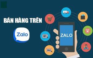 Cách bán hàng trên Zalo bằng điện thoại