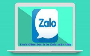 Cách đăng bài trên Zalo máy tính