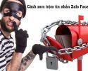 Cách xem trộm tin nhắn trên Zalo Facebook