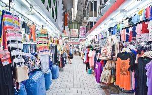 chợ đầu mối quần áo hà nội