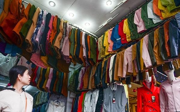 chợ đầu mối quần áo nam định