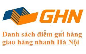 Hệ thống bưu cục giao hàng nhanh Hà Nội