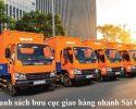 Danh sách bưu cục giao hàng nhanh Sài Gòn