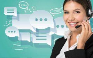 Chăm sóc khách hàng qua điện thoại là kênh phổ biến nhất
