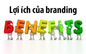 Lợi ích của branding