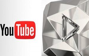 nút kim cương trên youtube
